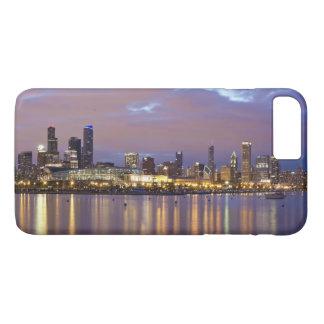 Coque iPhone 8 Plus/7 Plus Les Etats-Unis, l'Illinois, Chicago, horizon de