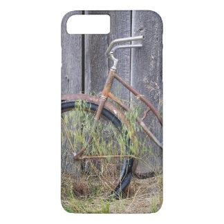 Coque iPhone 8 Plus/7 Plus Les Etats-Unis, Orégon, courbure. Un vieux vélo