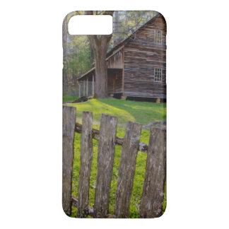 Coque iPhone 8 Plus/7 Plus Les Etats-Unis, Tennessee, cabine dans la crique