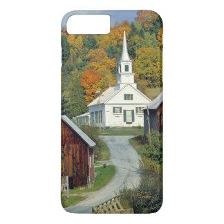 Coque iPhone 8 Plus/7 Plus Les Etats-Unis, Vermont, attendent la rivière. Le