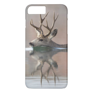 Coque iPhone 8 Plus/7 Plus Les Etats-Unis, Wyoming, cerf commun de mule