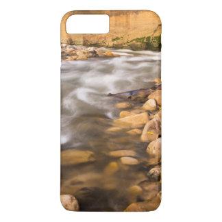 Coque iPhone 8 Plus/7 Plus Les étroits de la rivière de Vierge en automne 4