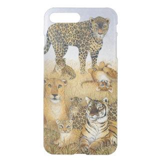 Coque iPhone 8 Plus/7 Plus Les grands chats