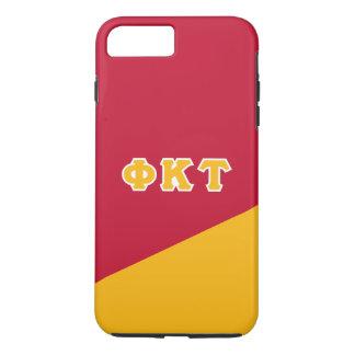 Coque iPhone 8 Plus/7 Plus Lettres de Grec de Tau | de Kappa de phi