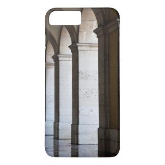 Coque iPhone 8 Plus/7 Plus L'Europe, Portugal, Lisbonne. Colonnes de l'arcade