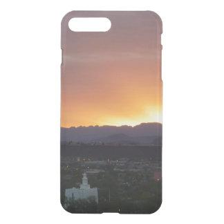 Coque iPhone 8 Plus/7 Plus Lever de soleil au-dessus de paysage de St George
