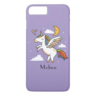 Coque iPhone 8 Plus/7 Plus Licorne de vol