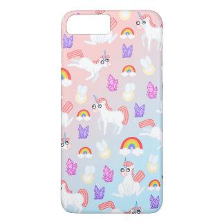 Coque iPhone 8 Plus/7 Plus Licornes de Doopy