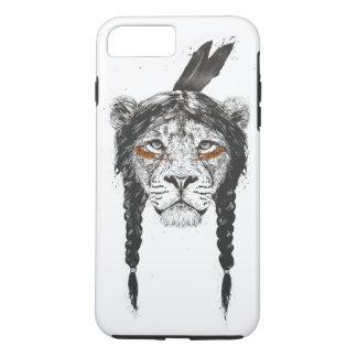 Coque iPhone 8 Plus/7 Plus Lion de guerrier