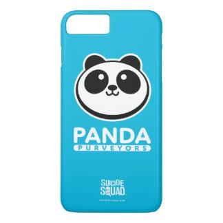 Coque iPhone 8 Plus/7 Plus Logo de fournisseurs de panda du peloton | de