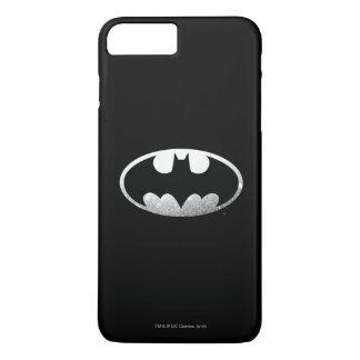Coque iPhone 8 Plus/7 Plus Logo grenu du symbole | de Batman