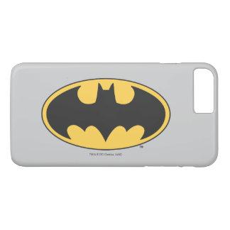 Coque iPhone 8 Plus/7 Plus Logo ovale 2 du symbole | de Batman