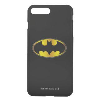 Coque iPhone 8 Plus/7 Plus Logo ovale de gradient du symbole | de Batman