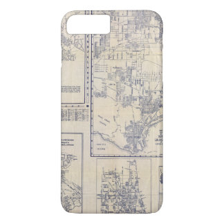 Coque iPhone 8 Plus/7 Plus Los Angeles, la Californie