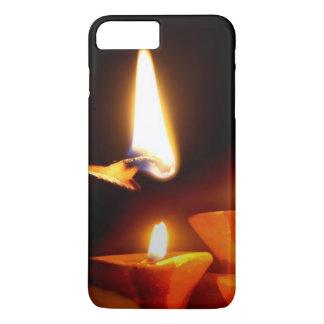 Coque iPhone 8 Plus/7 Plus Lumière de Diwali