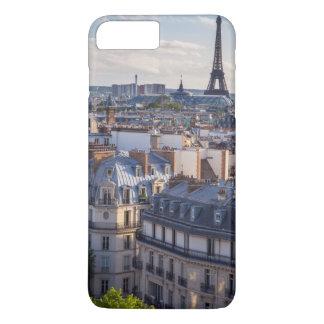 Coque iPhone 8 Plus/7 Plus Lumière du soleil de soirée au-dessus des