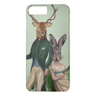 Coque iPhone 8 Plus/7 Plus M. Deer et Mme Rabbit 2