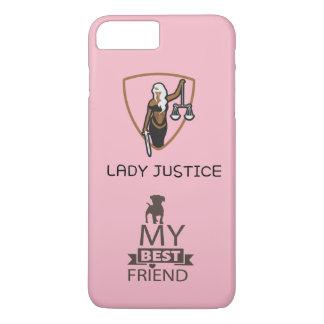 Coque iPhone 8 Plus/7 Plus Madame Justice pour mon chien