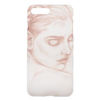 Coque iPhone 8 Plus/7 Plus Madame victorienne Portrait Drawing