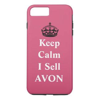 Coque iPhone 8 Plus/7 Plus Maintenez calme je vendent AVON