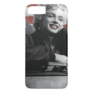 Coque iPhone 8 Plus/7 Plus Marilyn patriote