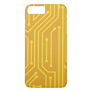 Coque iPhone 8 Plus/7 Plus Matériel informatique abstrait