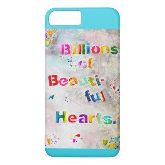 Coque iPhone 8 Plus/7 Plus Milliards de beaux coeurs - iPhone