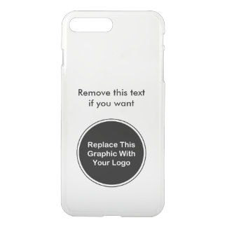 Coque iPhone 8 Plus/7 Plus Modèle de logo d'affaires