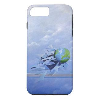 Coque iPhone 8 Plus/7 Plus Monde cassant le verre