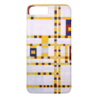 Coque iPhone 8 Plus/7 Plus Mondrian - boogie Woogie de Broadway