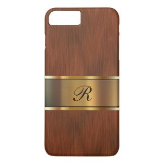 Coque iPhone 8 Plus/7 Plus Monogramme de professionnel d'affaires