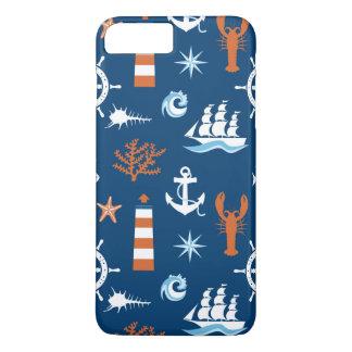 Coque iPhone 8 Plus/7 Plus Motif 1 de thème de mer
