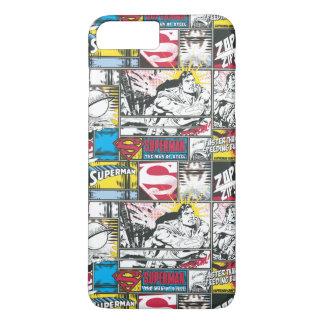 Coque iPhone 8 Plus/7 Plus Motif 2 de logo de Superman