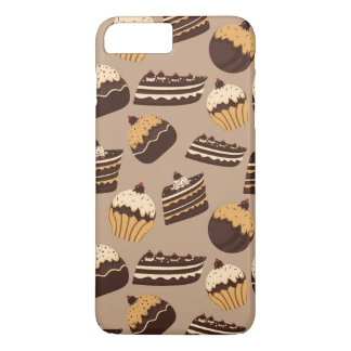 Coque iPhone 8 Plus/7 Plus Motif 3 de chocolat et de pâtisseries