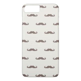 Coque iPhone 8 Plus/7 Plus Motif 3 de hippie de moustache