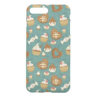 Coque iPhone 8 Plus/7 Plus Motif avec des petits gâteaux et des sucreries