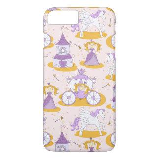 Coque iPhone 8 Plus/7 Plus motif avec une princesse