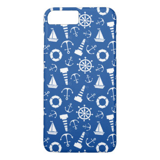 Coque iPhone 8 Plus/7 Plus Motif bleu de mer