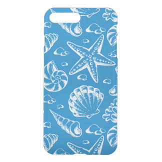 Coque iPhone 8 Plus/7 Plus Motif bleu de plage