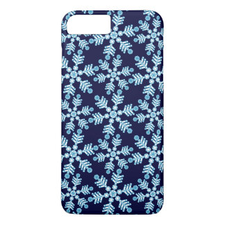 Coque iPhone 8 Plus/7 Plus Motif d'art déco de flocon de neige
