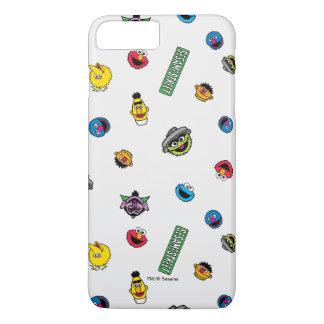 Coque iPhone 8 Plus/7 Plus Motif de caractère de Sesame Street
