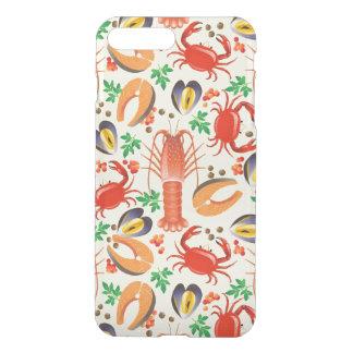 Coque iPhone 8 Plus/7 Plus Motif de fruits de mer