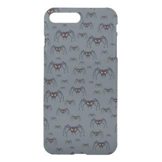 Coque iPhone 8 Plus/7 Plus Motif de Halloween avec des araignées