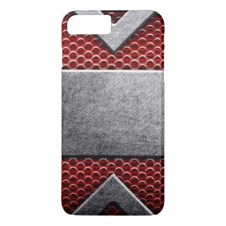 Coque iPhone 8 Plus/7 Plus Motif de la plaque de métal
