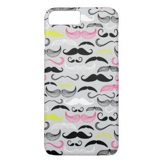 Coque iPhone 8 Plus/7 Plus Motif de moustache, rétro style