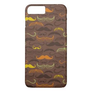 Coque iPhone 8 Plus/7 Plus Motif de moustache, rétro style 5