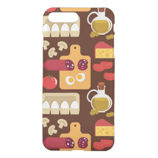 Coque iPhone 8 Plus/7 Plus Motif de pizza