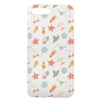 Coque iPhone 8 Plus/7 Plus Motif de plage d'été