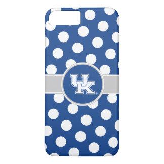 Coque iPhone 8 Plus/7 Plus Motif de point BRITANNIQUE de polka du Kentucky  