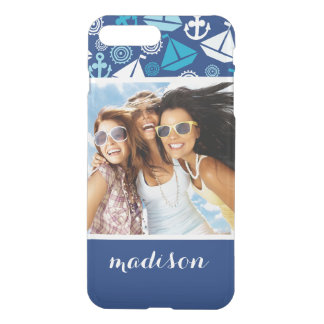 Coque iPhone 8 Plus/7 Plus Motif | de voiliers de bande dessinée votre photo